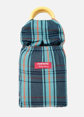 Vintage Check Baby Ring Sling