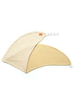 Hypoallergenic Maternity & Feeding Pillow Case - Yellow Stripe