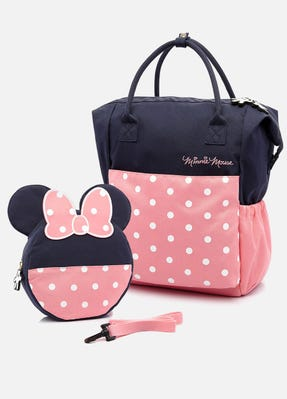 Disney Mum & Baby Backpack With Safety Harness