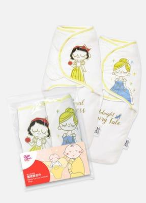 Disney Princess Cocoon Swaddle Wrap 2 Pack