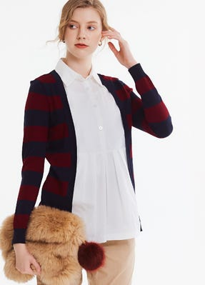 2 in 1 Cardigan with Maternity & Nursing Top